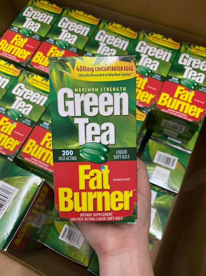 vien giam can Green Tea Fat Burner mua o dau chinh hang